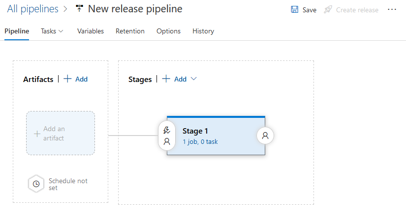 New Release Pipeline Stage
